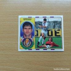 Cromos de Fútbol: FERNANDO REAL VALLADOLID EDICIONES ESTE 1996 1997 LIGA 96 97 SIN PEGAR NUNCA PEGADO. Lote 184089915