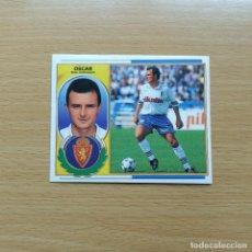Cromos de Fútbol: OSCAR REAL ZARAGOZA EDICIONES ESTE 1996 1997 LIGA 96 97 SIN PEGAR NUNCA PEGADO. Lote 184091635