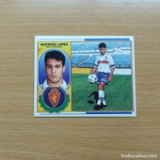 Cromos de Fútbol: GUSTAVO LOPEZ REAL ZARAGOZA EDICIONES ESTE 1996 1997 LIGA 96 97 SIN PEGAR NUNCA PEGADO. Lote 184091876