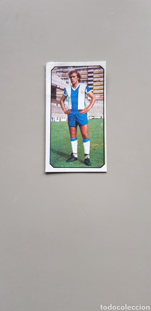 CROMO DIFICIL FICHAJE 18 FLORES LIGA ESTE 77 78 1977 1978 ESPAÑOL (Coleccionismo Deportivo - Álbumes y Cromos de Deportes - Cromos de Fútbol)