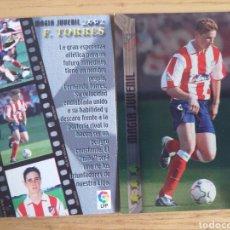 Cromos de Fútbol: FÚTBOL CROMO Nº 485 FERNANDO TORRES ATLÉTICO MADRID MUNDICROMO 2002 2003 02-03. Lote 194256605