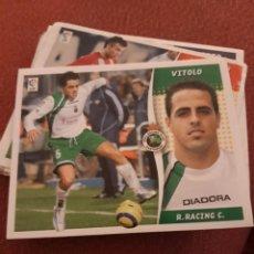 Cromos de Futebol: ESTE 06 07 2006 2007 SIN PEGAR RACING DE SANTANDER VITOLO. Lote 184400115
