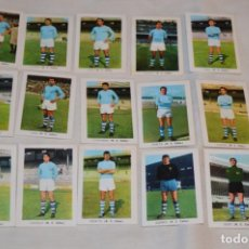 Cromos de Fútbol: R.C. CELTA - 16 CROMOS - LIGA 70-71 - CAMPEONATO DE LIGA 1970 / 1971 - FHER / DISGRA ¡BUEN ESTADO!. Lote 184606177