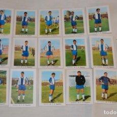Cromos de Fútbol: RCD ESPAÑOL - 16 CROMOS - LIGA 70-71 - CAMPEONATO DE LIGA 1970 / 1971 - FHER / DISGRA ¡BUEN ESTADO!. Lote 184607005