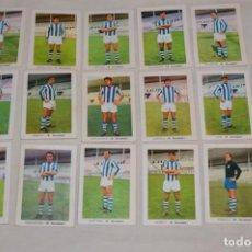 Cromos de Fútbol: R. SOCIEDAD - 16 CROMOS - LIGA 70-71 - CAMPEONATO DE LIGA 1970 / 1971 - FHER / DISGRA ¡BUEN ESTADO!. Lote 184609347