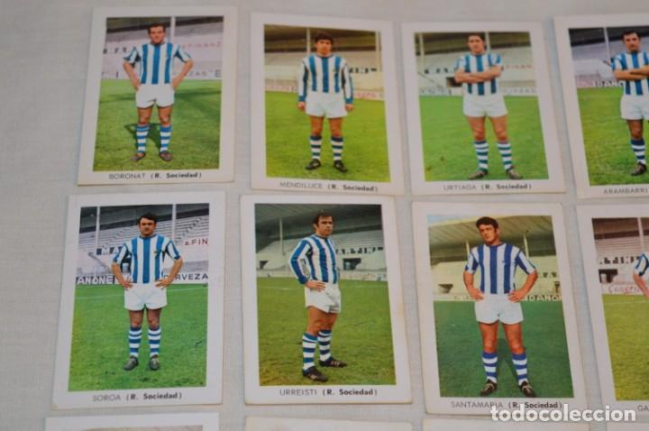 Cromos de Fútbol: R. SOCIEDAD - 16 CROMOS - LIGA 70-71 - CAMPEONATO de LIGA 1970 / 1971 - FHER / DISGRA ¡Buen estado! - Foto 2 - 184609347