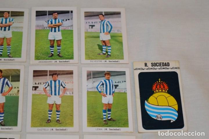 Cromos de Fútbol: R. SOCIEDAD - 16 CROMOS - LIGA 70-71 - CAMPEONATO de LIGA 1970 / 1971 - FHER / DISGRA ¡Buen estado! - Foto 3 - 184609347