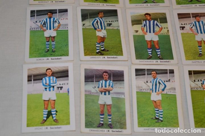 Cromos de Fútbol: R. SOCIEDAD - 16 CROMOS - LIGA 70-71 - CAMPEONATO de LIGA 1970 / 1971 - FHER / DISGRA ¡Buen estado! - Foto 4 - 184609347
