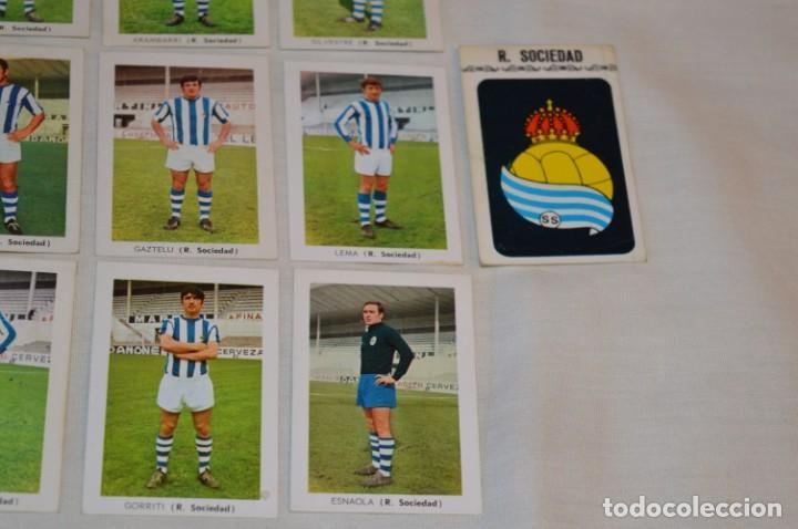 Cromos de Fútbol: R. SOCIEDAD - 16 CROMOS - LIGA 70-71 - CAMPEONATO de LIGA 1970 / 1971 - FHER / DISGRA ¡Buen estado! - Foto 5 - 184609347