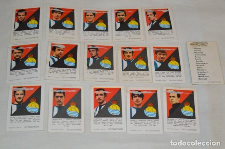 Cromos de Fútbol: R. SOCIEDAD - 16 CROMOS - LIGA 70-71 - CAMPEONATO de LIGA 1970 / 1971 - FHER / DISGRA ¡Buen estado! - Foto 6 - 184609347