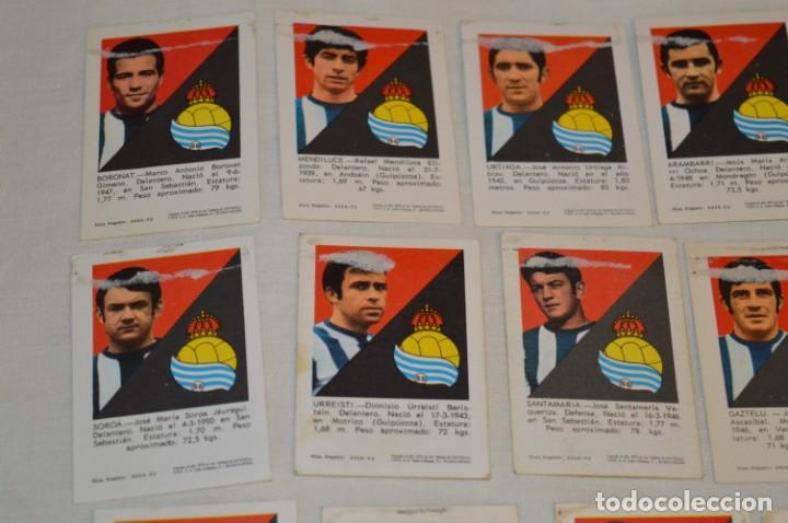 Cromos de Fútbol: R. SOCIEDAD - 16 CROMOS - LIGA 70-71 - CAMPEONATO de LIGA 1970 / 1971 - FHER / DISGRA ¡Buen estado! - Foto 7 - 184609347