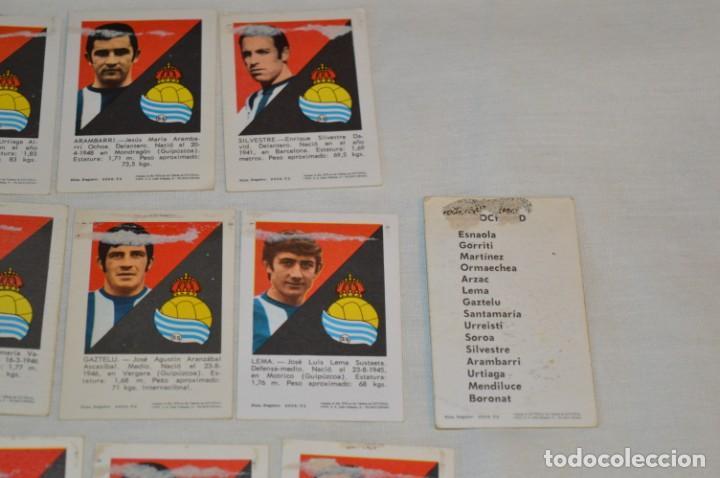 Cromos de Fútbol: R. SOCIEDAD - 16 CROMOS - LIGA 70-71 - CAMPEONATO de LIGA 1970 / 1971 - FHER / DISGRA ¡Buen estado! - Foto 8 - 184609347