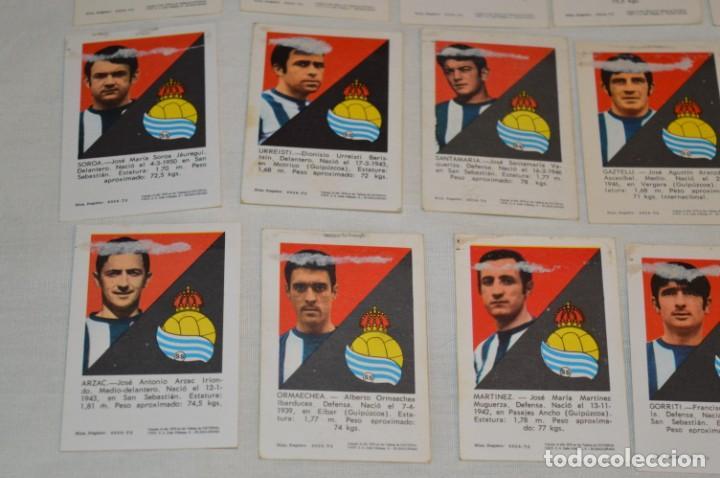 Cromos de Fútbol: R. SOCIEDAD - 16 CROMOS - LIGA 70-71 - CAMPEONATO de LIGA 1970 / 1971 - FHER / DISGRA ¡Buen estado! - Foto 9 - 184609347