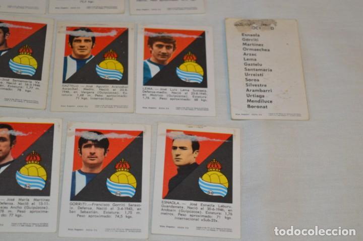 Cromos de Fútbol: R. SOCIEDAD - 16 CROMOS - LIGA 70-71 - CAMPEONATO de LIGA 1970 / 1971 - FHER / DISGRA ¡Buen estado! - Foto 10 - 184609347