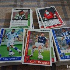 Cromos de Fútbol: MUNDICROMO LIGA 2002 LOTE DE 280 CARDS . Lote 184790756