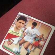 Cromos de Fútbol: ESTE 89 90 1989 1990 DESPEGADO SEVILLA ANTOÑITO. Lote 184827536