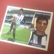 Cromos de Futebol: ESTE 06 07 2006 2007 SIN PEGAR REAL SOCIEDAD FABIO FELICIO FICHAJE 4. Lote 184855645