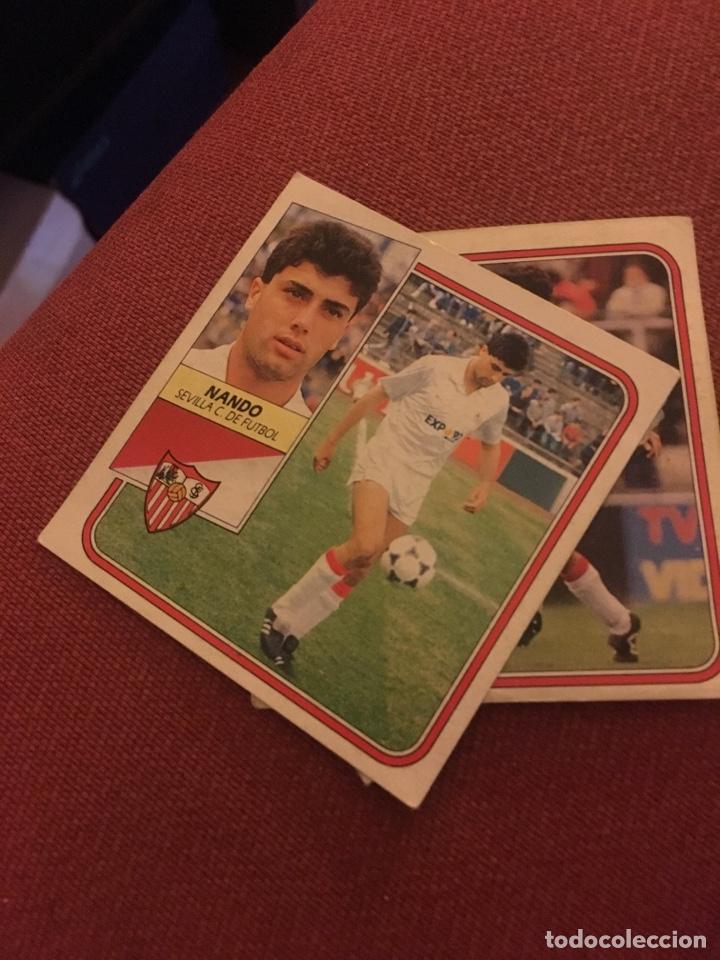 ESTE 89 90 1989 1990 DESPEGADO SEVILLA NANDO (Coleccionismo Deportivo - Álbumes y Cromos de Deportes - Cromos de Fútbol)