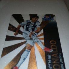 Cromos de Fútbol: CRISTIANO RONALDO. TOPP CRYSTAL. EDICIÓN LIMITADA. NO VISTO OTRO. Lote 185704008
