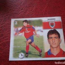Cromos de Fútbol: JANDRO NUMANCIA ED ESTE 99 00 CROMO FUTBOL LIGA 1999 2000 - RECORTADO - FICHAJE 30 1653. Lote 185710601
