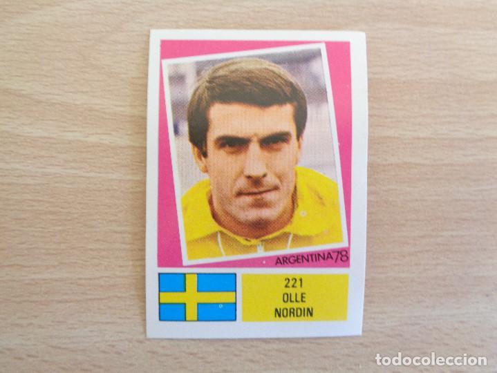 FHER ARGENTINA 1978 CROMO NÚM. 221, COMO NUEVO. VER OTROS CROMOS COLECCIÓN (Coleccionismo Deportivo - Álbumes y Cromos de Deportes - Cromos de Fútbol)