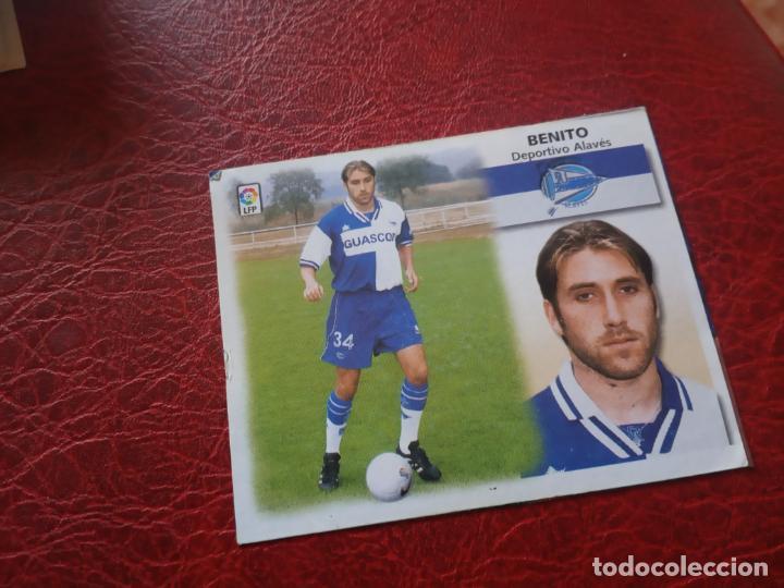 BENITO ALAVES ED ESTE 99 00 CROMO FUTBOL LIGA 1999 2000 - RECORTADO - FICHAJE 32 1658 (Coleccionismo Deportivo - Álbumes y Cromos de Deportes - Cromos de Fútbol)