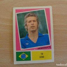 Cromos de Fútbol: FHER ARGENTINA 1978 CROMO NÚM. 19, COMO NUEVO. VER OTROS CROMOS COLECCIÓN. Lote 185711042