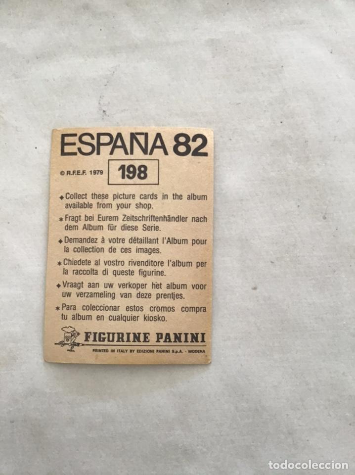 Cromos de Fútbol: España 82. Panini. Izso - Foto 2 - 185711098