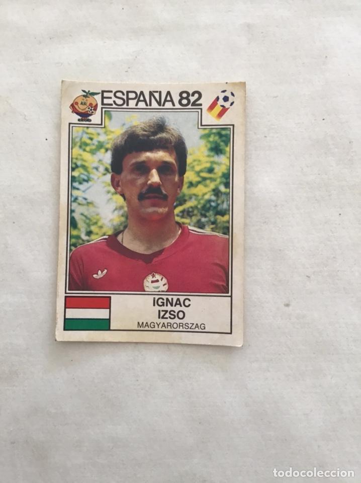 ESPAÑA 82. PANINI. IZSO (Coleccionismo Deportivo - Álbumes y Cromos de Deportes - Cromos de Fútbol)