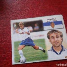 Cromos de Fútbol: JUANELE ZARAGOZA ED ESTE 99 00 CROMO FUTBOL LIGA 1999 2000 - RECORTADO - FICHAJE 27 1663. Lote 185711133