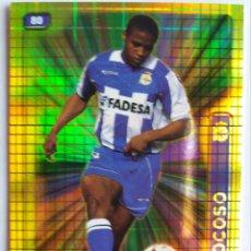 Cromos de Fútbol: 80 ANDRADE ROCOSO (CUADRADOS) - R.C. DEPORTIVO LA CORUÑA - MUNDICROMO 2005. Lote 185890602