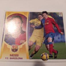 Cromos de Fútbol: LIGA ESTE 2009 2010 PANINI MESSI 15 BARCELONA. Lote 185904393