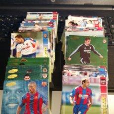 Cromos de Fútbol: LOTE DE 200 CARDS DE FUTBOL DE LA COLECCION MEGACRAKS 04 05. Lote 185935738