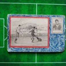 Cromos de Fútbol: CROMO FÚTBOL CHOCOLATES ORÚS ZARAGOZA MEJORES DEL MUNDO FOOT BALL 1922 Nº 11 SAGI - BARBA. Lote 186111963