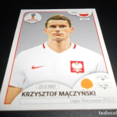Cromos de Fútbol: 606 KRZYSZTOF MACZYNSKI POLONIA POLAND CROMOS MUNDIAL FUTBOL 18 FIFA WORLD CUP RUSSIA RUSIA 2018. Lote 186119360