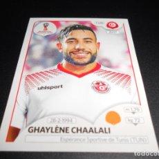 Cromos de Fútbol: 564 GHAYLENE CHAALALI TUNEZ TUNISIA CROMOS MUNDIAL FUTBOL 18 FIFA WORLD CUP RUSSIA RUSIA 2018. Lote 186119455