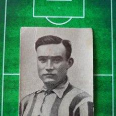 Cromos de Fútbol: CROMO FOTOGRAFÍA FÚTBOL CHOCOLATES OSTARIZ GALERÍA JUGADORES DE FOOT BALL 1922 Nº 14 ROCA AVENC. Lote 186120793