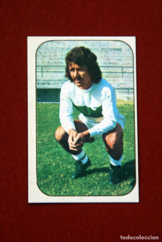 ED. ESTE 76-77. CORTES ELCHE. RECUPERADO (Coleccionismo Deportivo - Álbumes y Cromos de Deportes - Cromos de Fútbol)