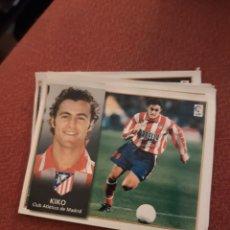 Cromos de Fútbol: ESTE 98 99 1998 1999 VENTANILLA ATLÉTICO DE MADRID KIKO. Lote 186461347