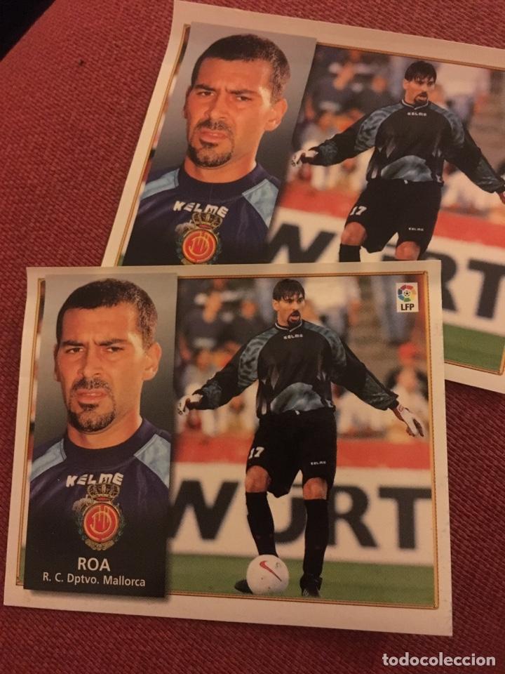ESTE 98 99 1998 1999 VENTANILLA MALLORCA ROA (Coleccionismo Deportivo - Álbumes y Cromos de Deportes - Cromos de Fútbol)