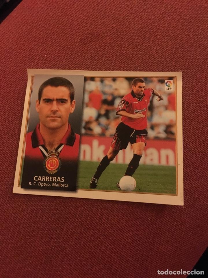 ESTE 98 99 1998 1999 VENTANILLA MALLORCA CARRERAS (Coleccionismo Deportivo - Álbumes y Cromos de Deportes - Cromos de Fútbol)