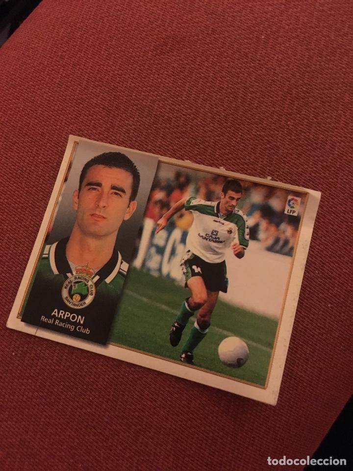 ESTE 98 99 1998 1999 VENTANILLA RACING DE SANTANDER ARPON (Coleccionismo Deportivo - Álbumes y Cromos de Deportes - Cromos de Fútbol)