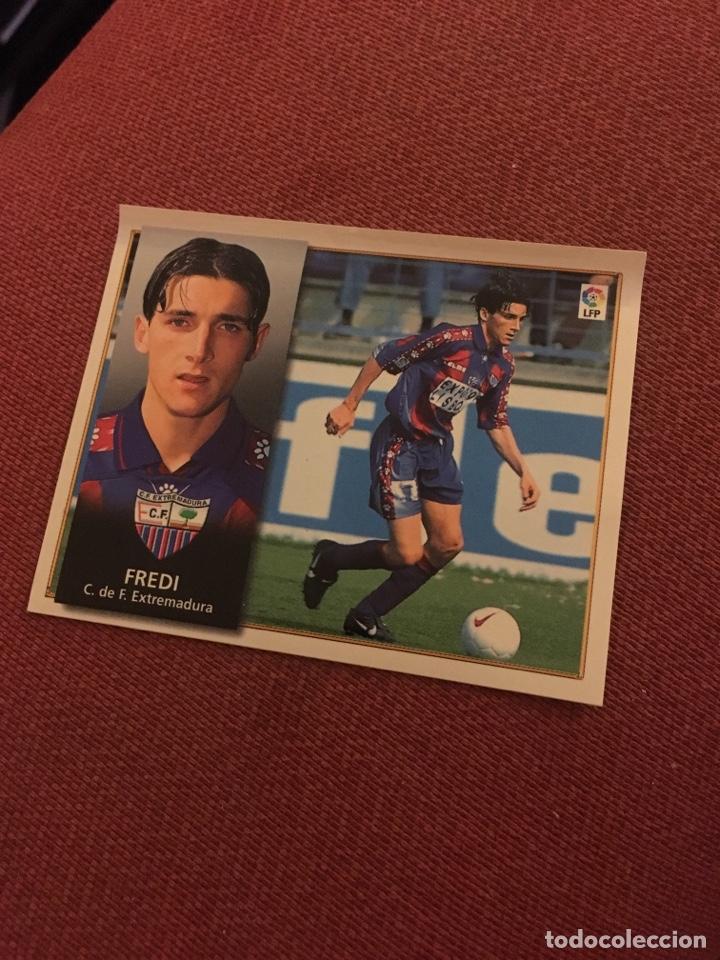 ESTE 98 99 1998 1999 VENTANILLA FREDI EXTREMADURA (Coleccionismo Deportivo - Álbumes y Cromos de Deportes - Cromos de Fútbol)