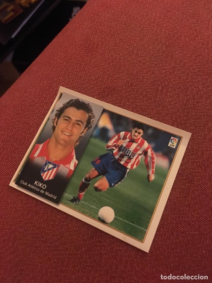 ESTE 98 99 1998 1999 VENTANILLA KIKO ATLÉTICO DE MADRID (Coleccionismo Deportivo - Álbumes y Cromos de Deportes - Cromos de Fútbol)