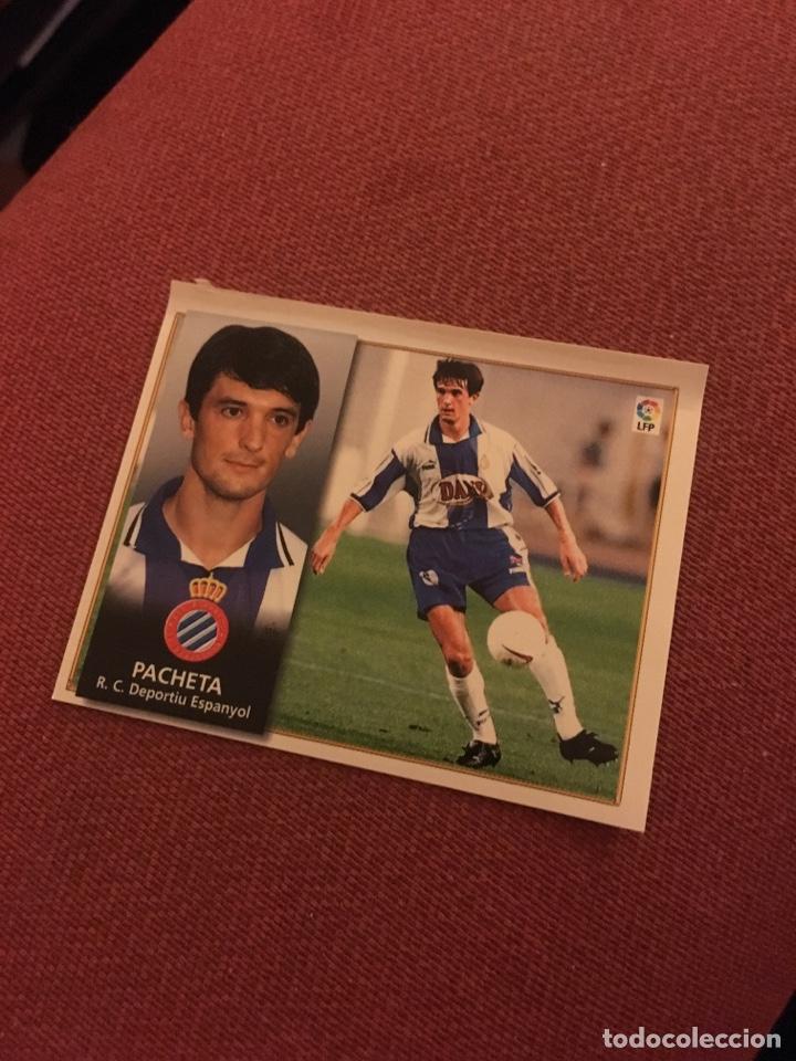 ESTE 98 99 1998 1999 VENTANILLA ESPAÑOL PACHETA (Coleccionismo Deportivo - Álbumes y Cromos de Deportes - Cromos de Fútbol)