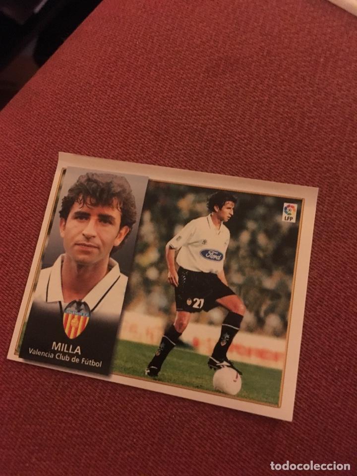 ESTE 98 99 1998 1999 VENTANILLA VALENCIA MILLA (Coleccionismo Deportivo - Álbumes y Cromos de Deportes - Cromos de Fútbol)