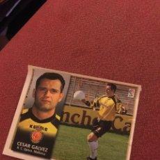 Cromos de Fútbol: ESTE 98 99 1998 1999 VENTANILLA CESAR GÁLVEZ MALLORCA. Lote 186463015