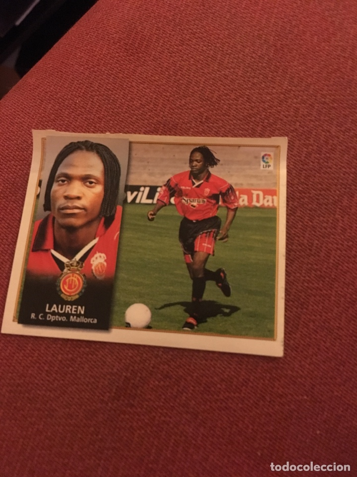 ESTE 98 99 1998 1999 VENTANILLA MALLORCA LAUREN (Coleccionismo Deportivo - Álbumes y Cromos de Deportes - Cromos de Fútbol)