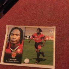 Cromos de Fútbol: ESTE 98 99 1998 1999 VENTANILLA MALLORCA LAUREN. Lote 186463032