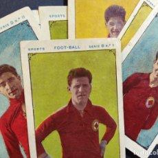 Cromos de Fútbol: F.C. ESPAÑA-11 CROMOS FUTBOL-SERIE D-PUBLICIDAD CHOCOLATE JUNCOSA-VER FOTOS-(V-18.613). Lote 187215758